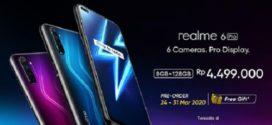 Realme 6 Pro Hadir di Indonesia Seharga Rp 4,5 Juta, Ini Spesifikasinya
