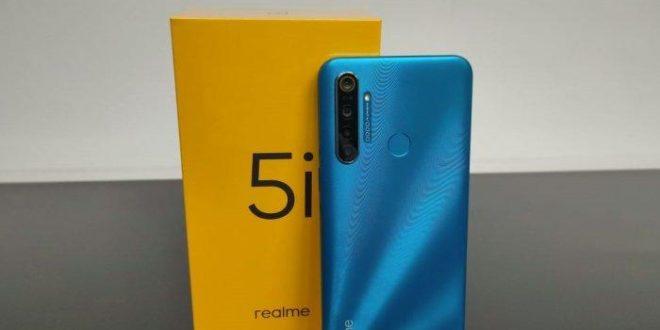 Harga Terbaru HP Realme Mei 2020 dan Spesiafikasi Realmi 5i